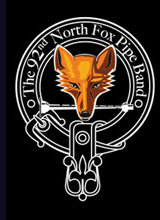 Logo North Fox Pipe Band
